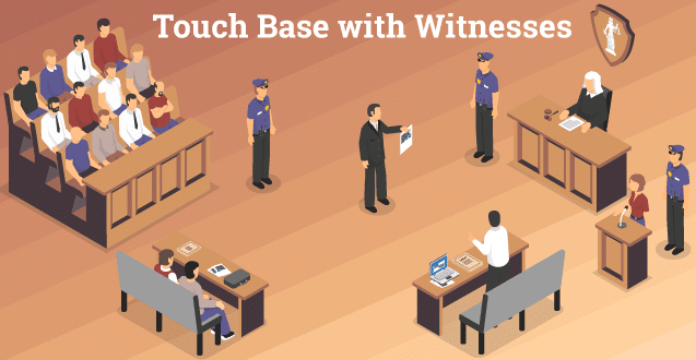 Touch Base with Witnesses
